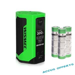 Wismec Reuleaux RXgen3 + accus offerts