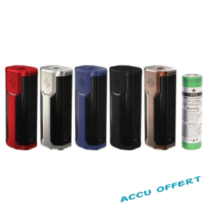 Wismec Sinuous P80 + accu offert