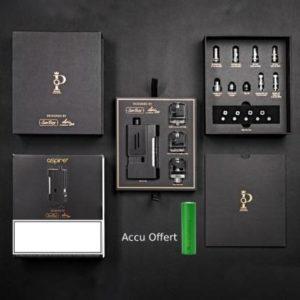 Aspire Prestige Boxx Deluxe + accu offert